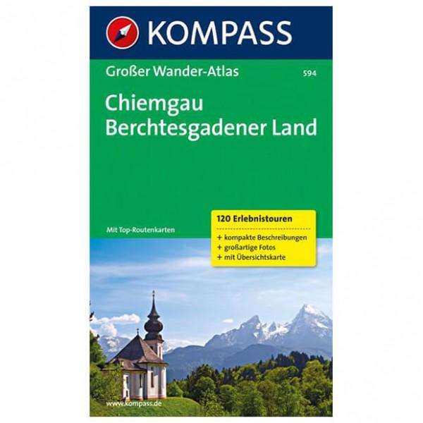 Kompass - Chiemgau - Wanderführer
