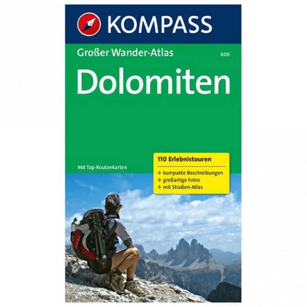 Kompass - Dolomiten - Vandringsguider