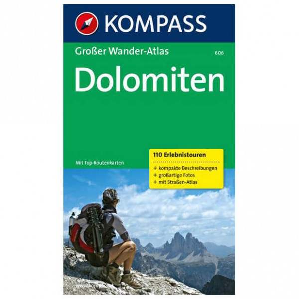 Kompass - Dolomiten - Wandelgidsen