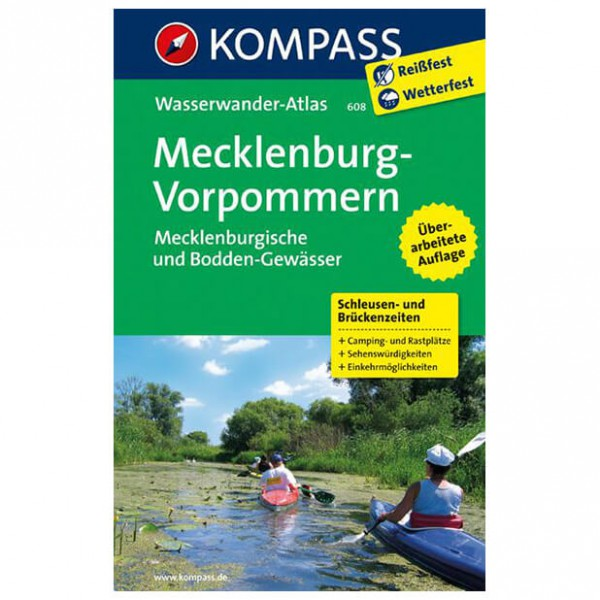 Kompass - Mecklenburg - Walking guide books
