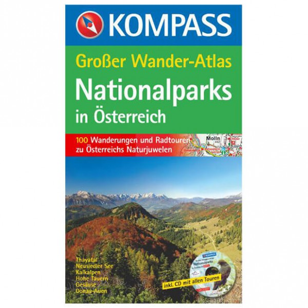 Kompass - Nationalparks in Österreich - Wandelgidsen
