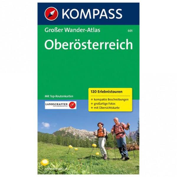 Kompass - Oberösterreich - Walking guide books