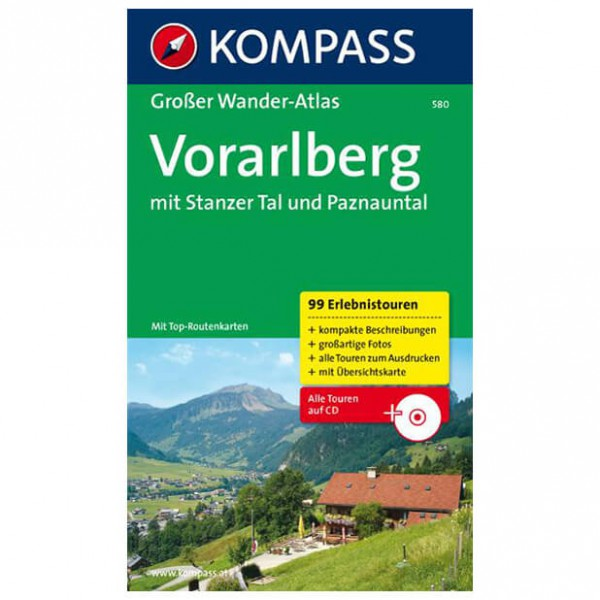 Kompass - Vorarlberg - Hiking guides