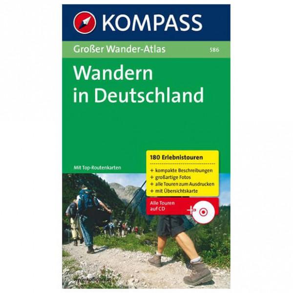 Kompass - Wandern in Deutschland - Walking guide books