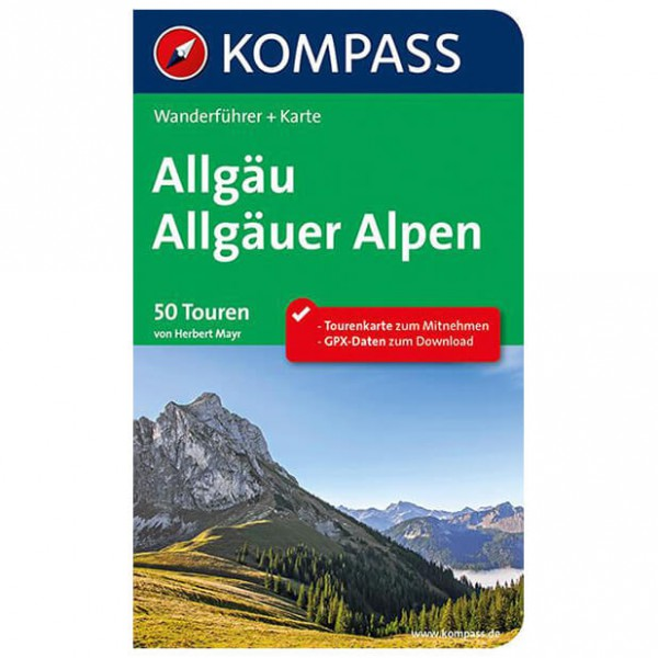 Kompass - Allgäu - Walking guide book