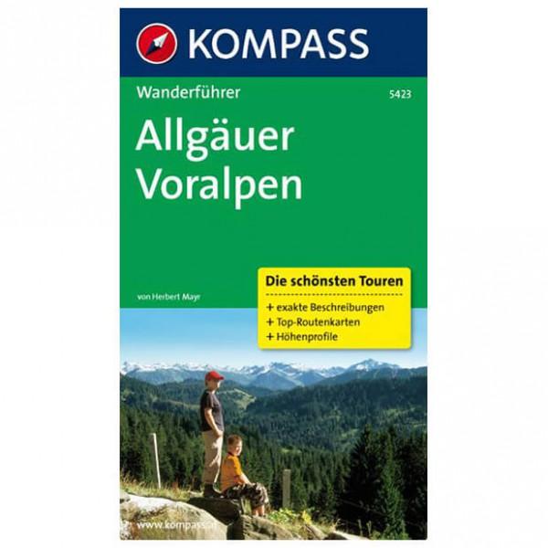 Kompass - Allgäuer Voralpen - Wanderführer