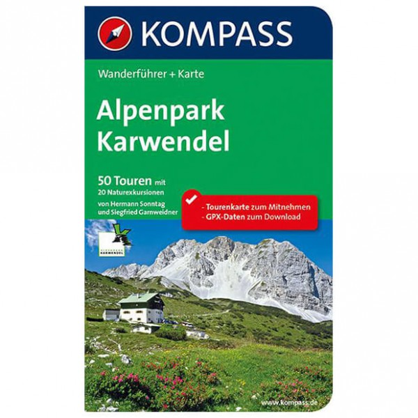 Kompass - Alpenpark Karwendel - Vaellusoppaat