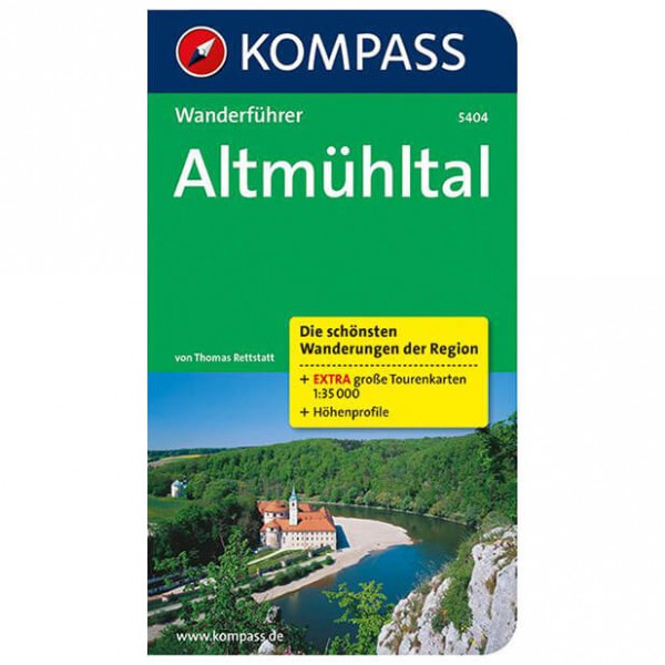 Kompass - Altmühltal - Walking guide books