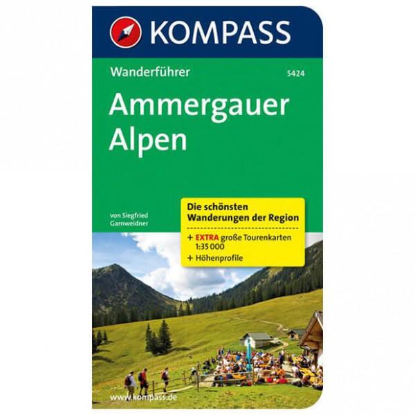 Kompass - Ammergauer Alpen - Wanderführer 5424