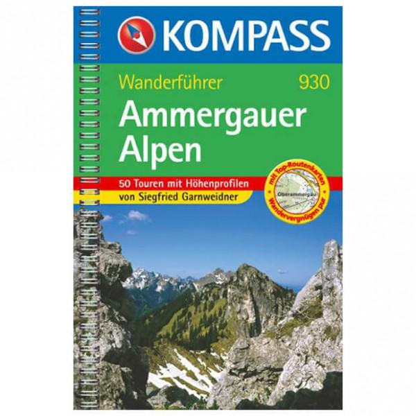 Kompass - Ammergauer Alpen - Wanderführer 930