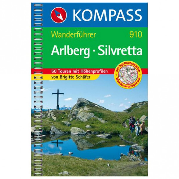 Kompass - Arlberg-Silvretta - Wanderführer