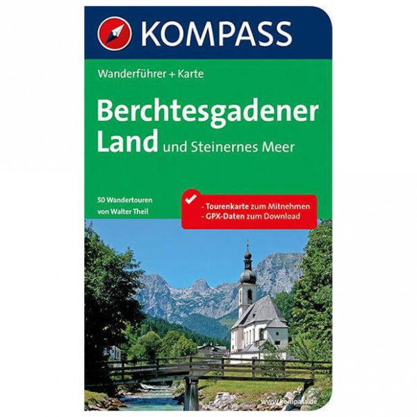 Kompass - Berchtesgadener Land - Walking guide book