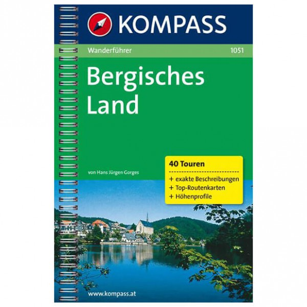 Kompass - Bergisches Land - Guides de randonnée