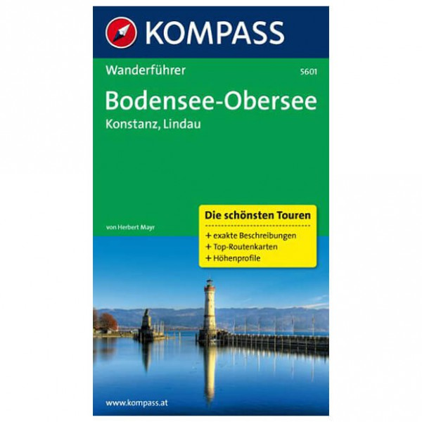 Kompass - Bodensee - Obersee - Konstanz - Walking guide book