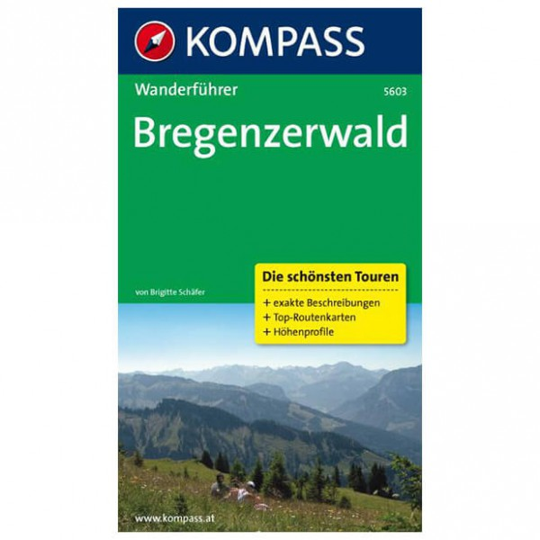 Kompass - Bregenzerwald - Walking guide books