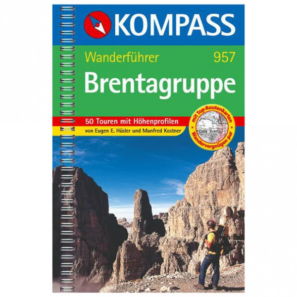 Kompass - Brentagruppe - Walking guide books