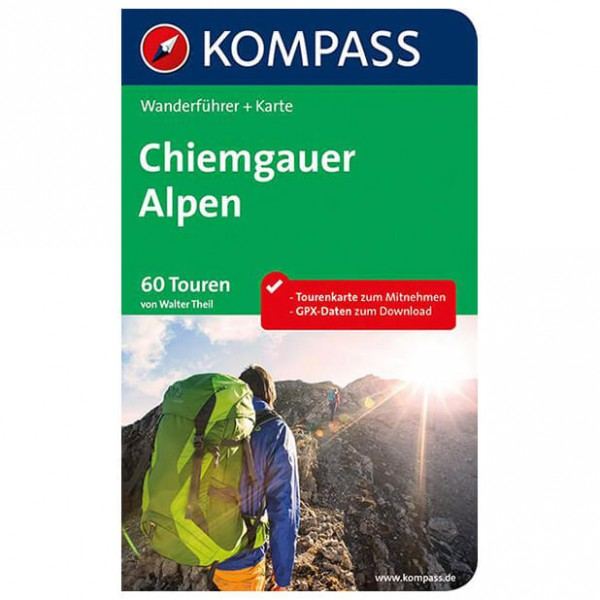 Kompass - Chiemgauer Alpen - Walking guide book