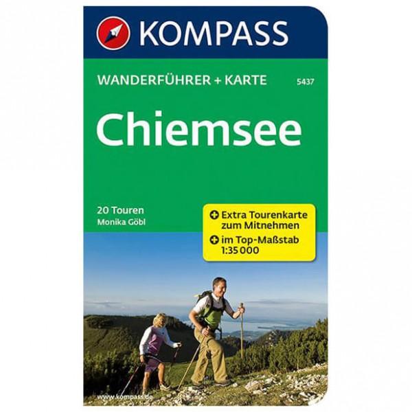 Kompass - Chiemsee - Walking guide books