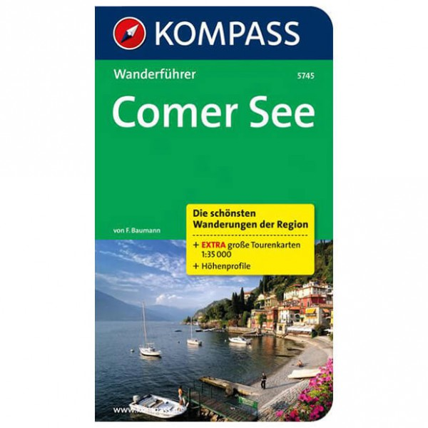 Kompass - Comer See - Walking guide books