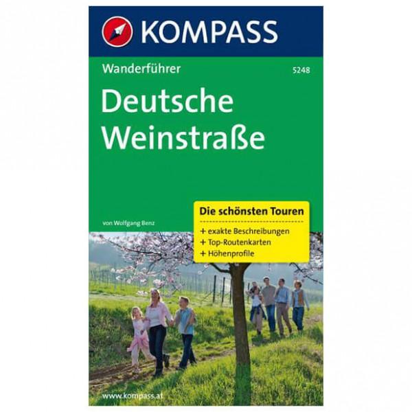 Kompass - Deutsche Weinstraße - Walking guide books
