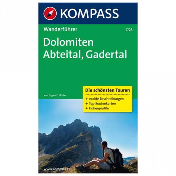Kompass - Dolomiten - Abteital - Gadertal - Vaellusoppaat