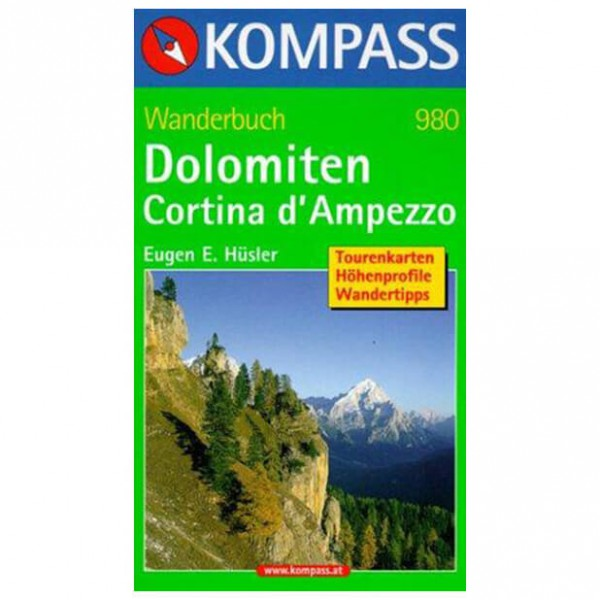 Kompass - Dolomiten - Cortina d'Ampezzo - Hiking guides