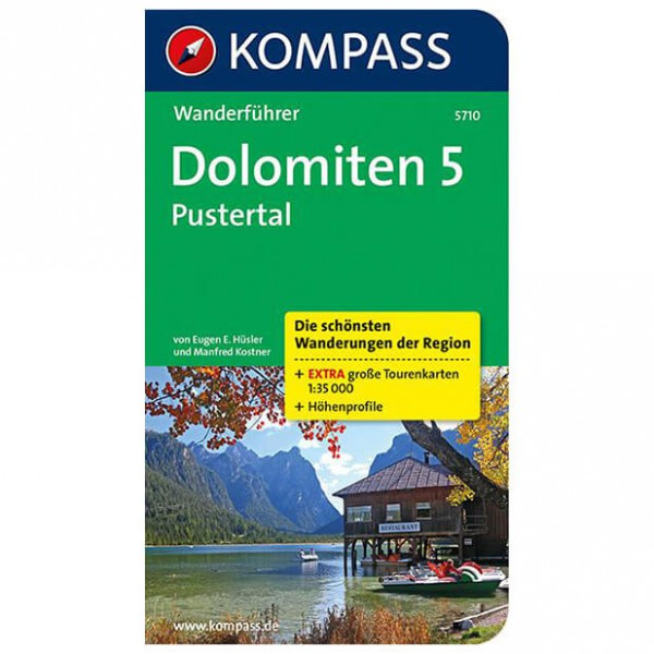 Kompass - Dolomiten 5, Pustertal - Hiking guides
