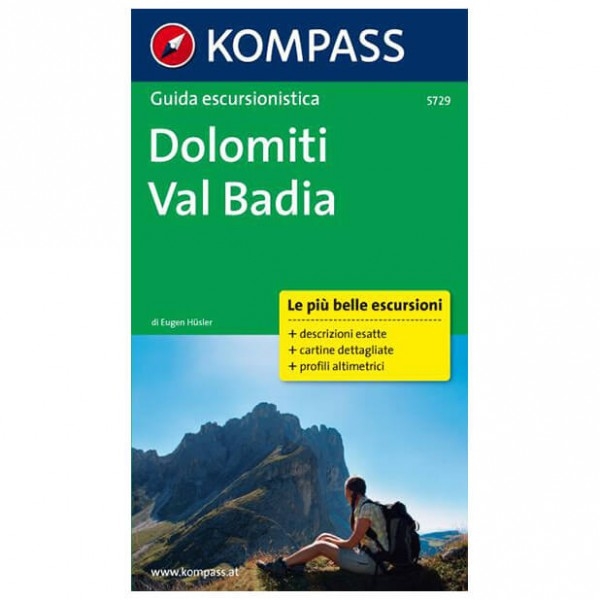Kompass - Dolomiti - Val Badia - Wanderführer