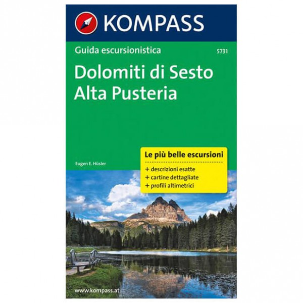 Kompass - Dolomiti di Sesto - Wanderführer