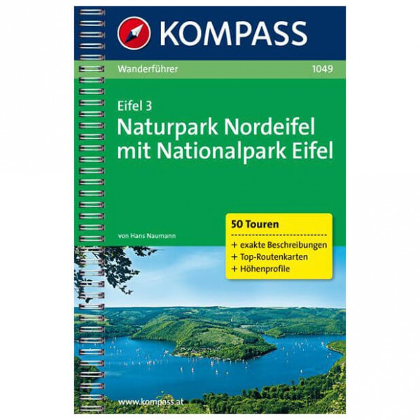 Kompass - Eifel 3 - Guía de senderismo