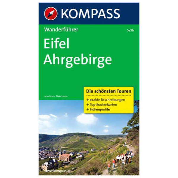 Kompass - Eifel, Ahrgebirge - Guides de randonnée