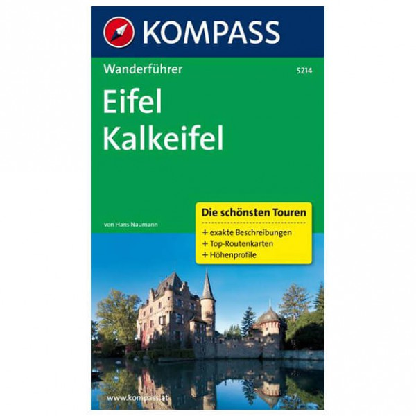 Kompass - Eifel, Kalkeifel - Walking guide book