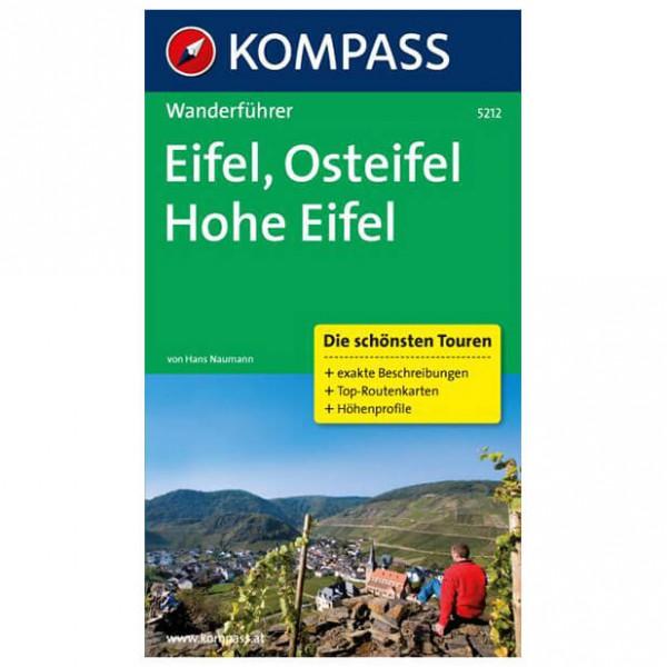 Kompass - Eifel, Osteifel und Hohe Eifel - Vaellusoppaat