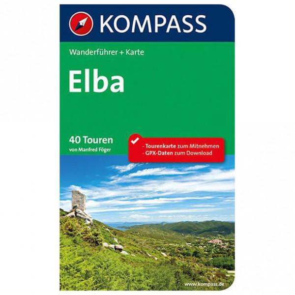 Kompass - Elba - Walking guide books
