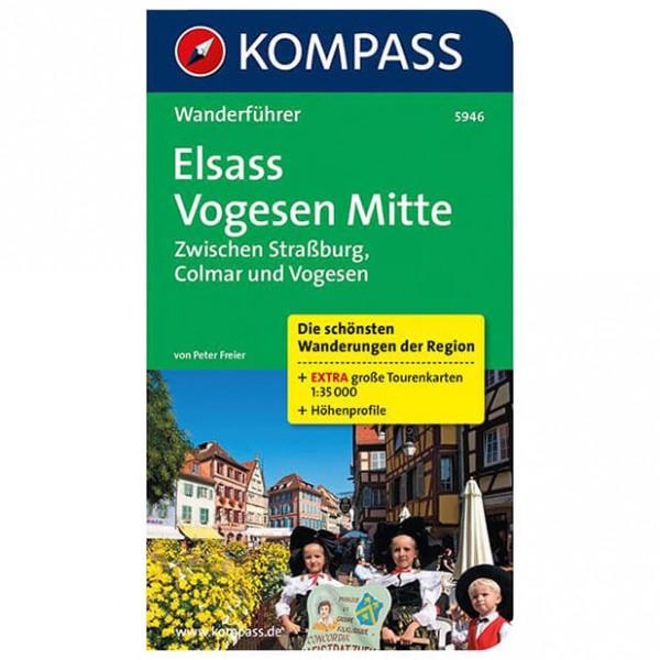 Kompass - Elsass, Vogesen, zwischen Straßburg, Colmar - Vandringsguider
