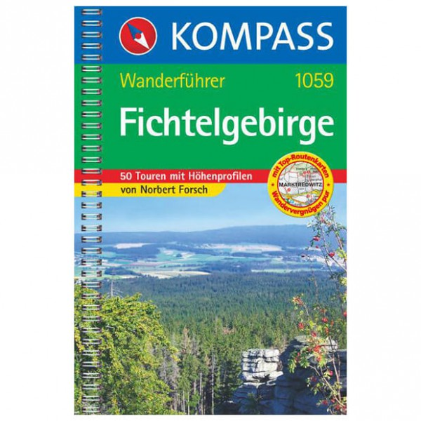Kompass - Fichtelgebirge - Guides de randonnée