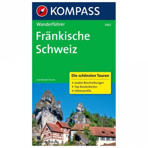 Kompass - Fränkische Schweiz - Guide de randonnée