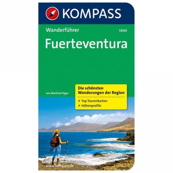 Kompass - Fuerteventura - Walking guide books