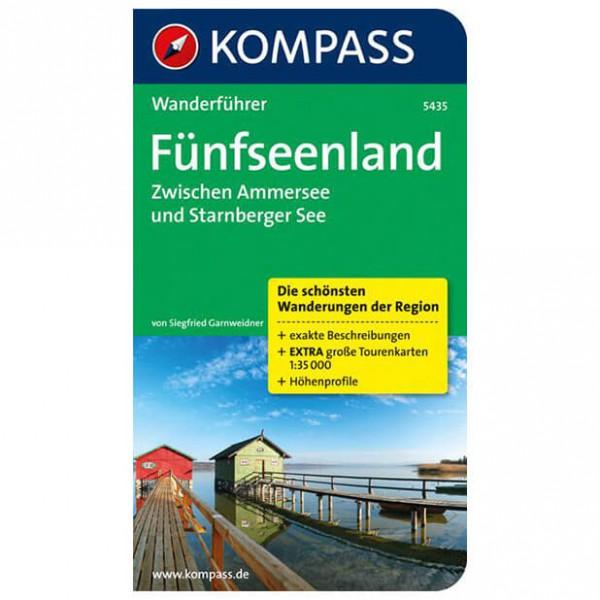 Kompass - Fünfseenland zwischen Ammersee und Starnberger See - Vandreguides