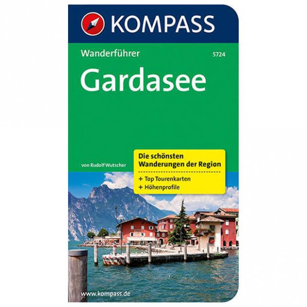 Kompass - Gardasee - Walking guide books