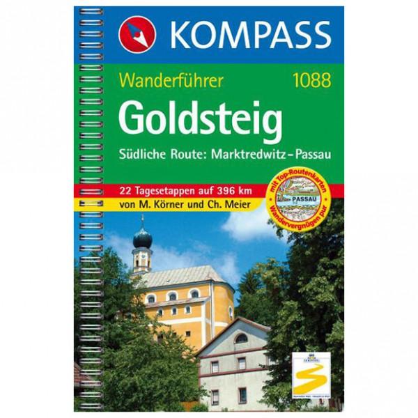 Kompass - Goldsteig - Südliche Route: Marktredwitz - Walking guide book