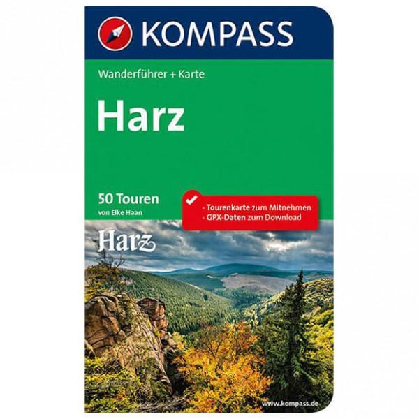 Kompass - Harz - Wanderführer