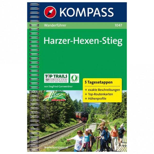 Kompass - Harzer-Hexen-Stieg - Walking guide books