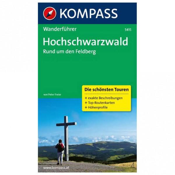 Kompass - Hochschwarzwald, Rund um den Feldberg - Walking guide book