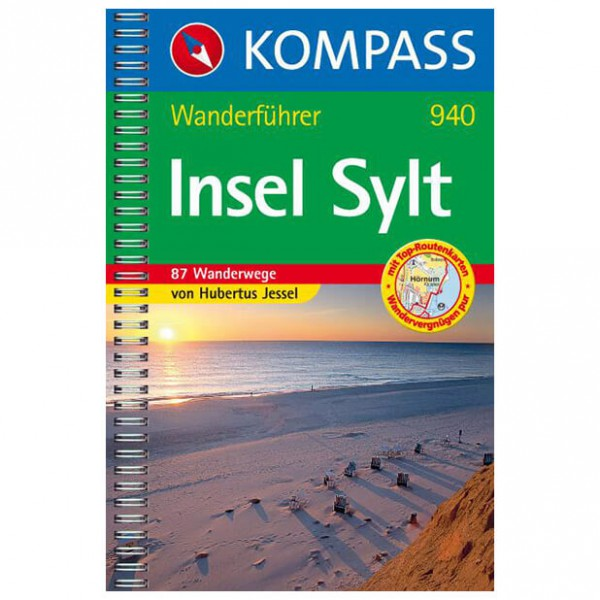 Kompass - Insel Sylt - Wanderführer