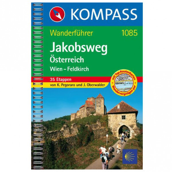 Kompass - Jakobsweg Österreich: Wien - Hiking guides