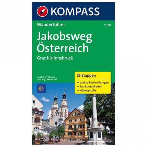 Kompass - Jakobsweg Österreich: Graz - Walking guide books
