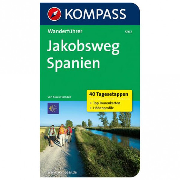 Kompass - Jakobsweg Spanien - Wanderführer