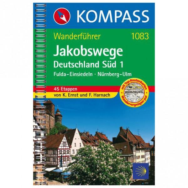 Kompass - Jakobswege Deutschland Süd 1 - Walking guide books