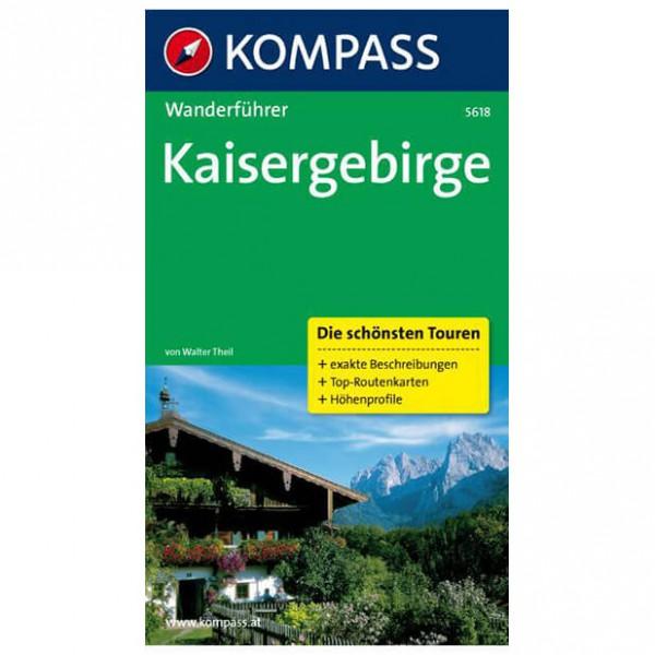 Kompass - Kaisergebirge - Walking guide book